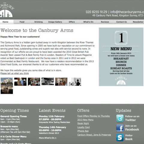 The Canbury Arms