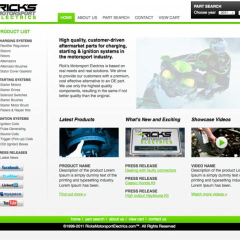 Ricks Motorsport Electrics